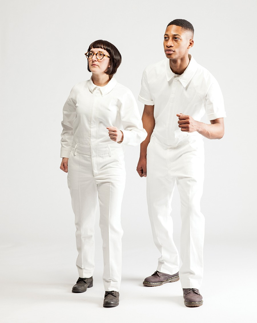 Rational Dress Society produces a unisex jumpsuit that comes in 248 different sizes. - LARA KASTNER