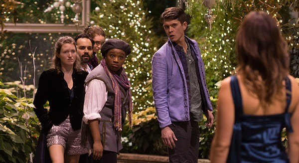 Twelfth Night ends its run tonight at the Lincoln Park Conservatory Sun 12/17. - TOM MCGRATH