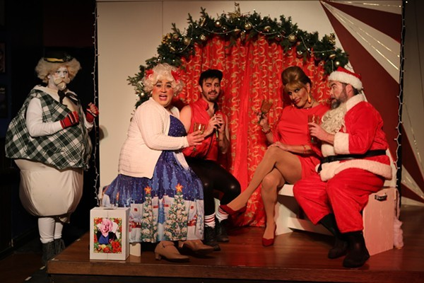 Hell in a Handbag Productions' Rudolph the Red-Hosed Reindeer - RICK GARCIA