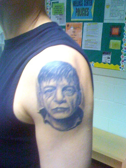 a7aa0ed60cd93 This guy loved Mark E. Smith more than you ever did because he got a ...