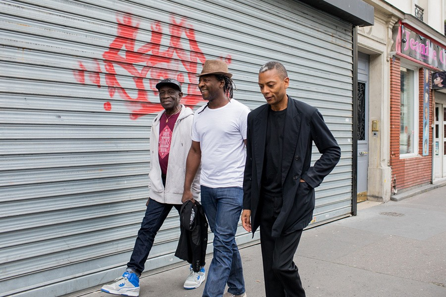 Nigerian drummer and Afrobeat pioneer Tony Allen collaborates with