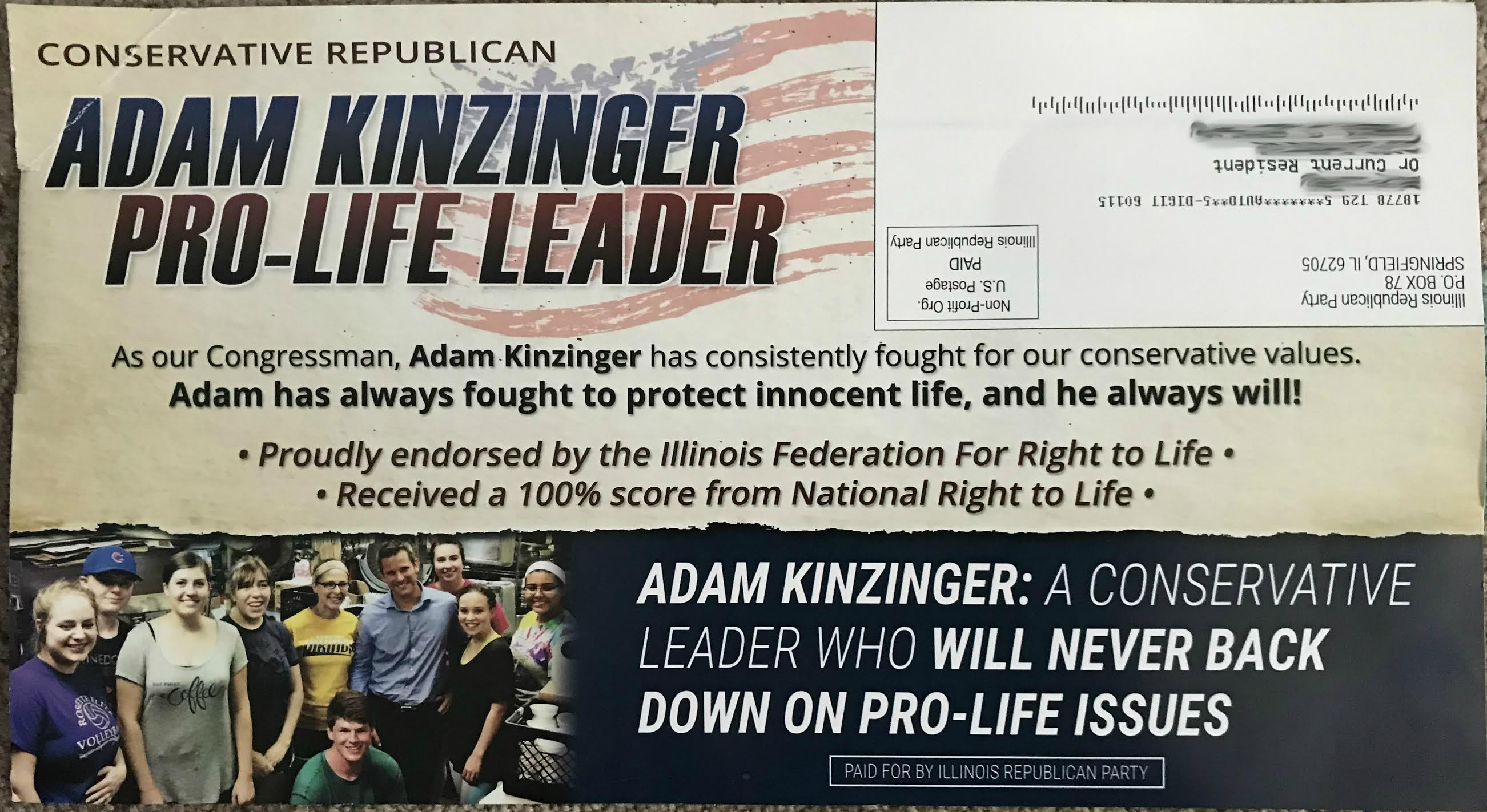 Women outraged after appearing in pro life ad for Republican