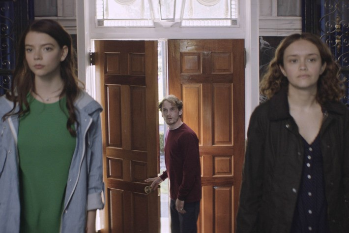 Anya Taylor-Joy, Anton Yelchin, and Olivia Cooke in Thoroughbreds