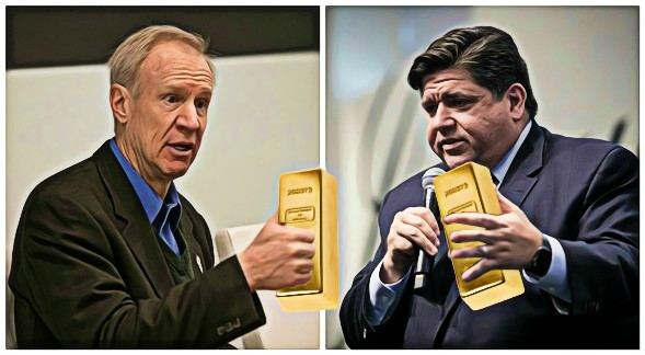It's rich guy versus rich guy for Illinois governor