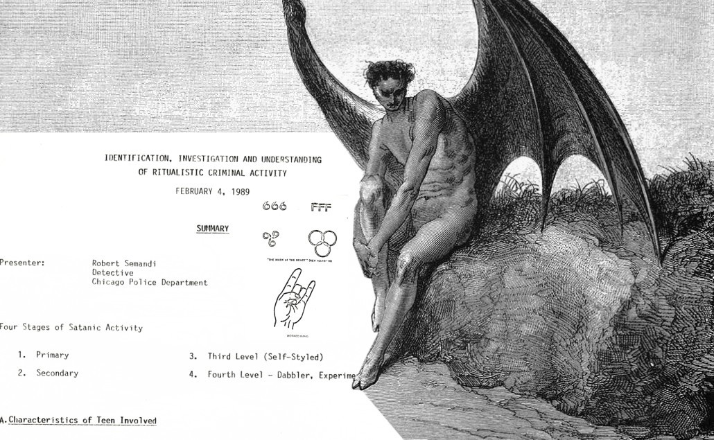 Chicago police 'satanic panic' document from the 80s goes