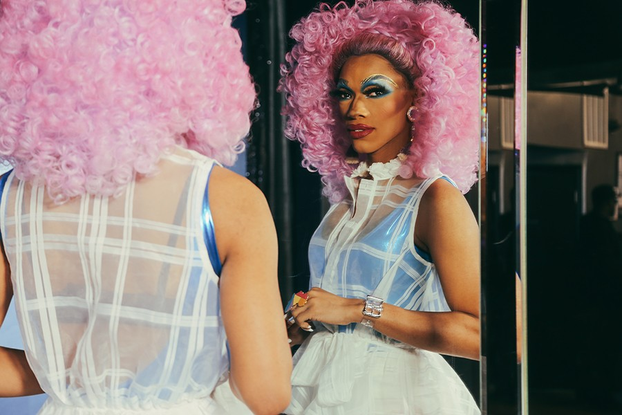 In April 2013, the Vixen was born onstage at the Jeffery Pub—Chicago's only black-owned gay club and one of the oldest LGBTQ+ spots in the country. - OLIVIA OBINEME