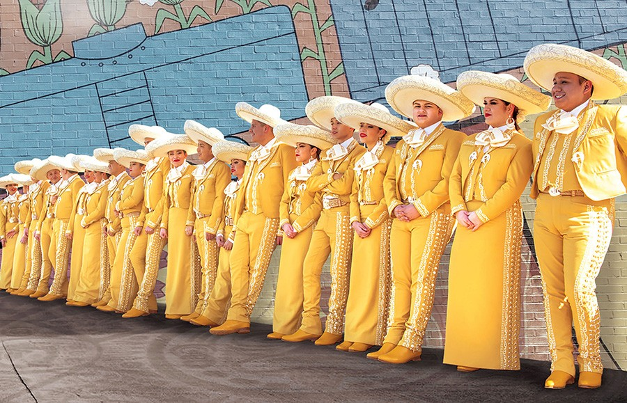 Mariachi Herencia de Mexico - CAROLINA SANCHEZ