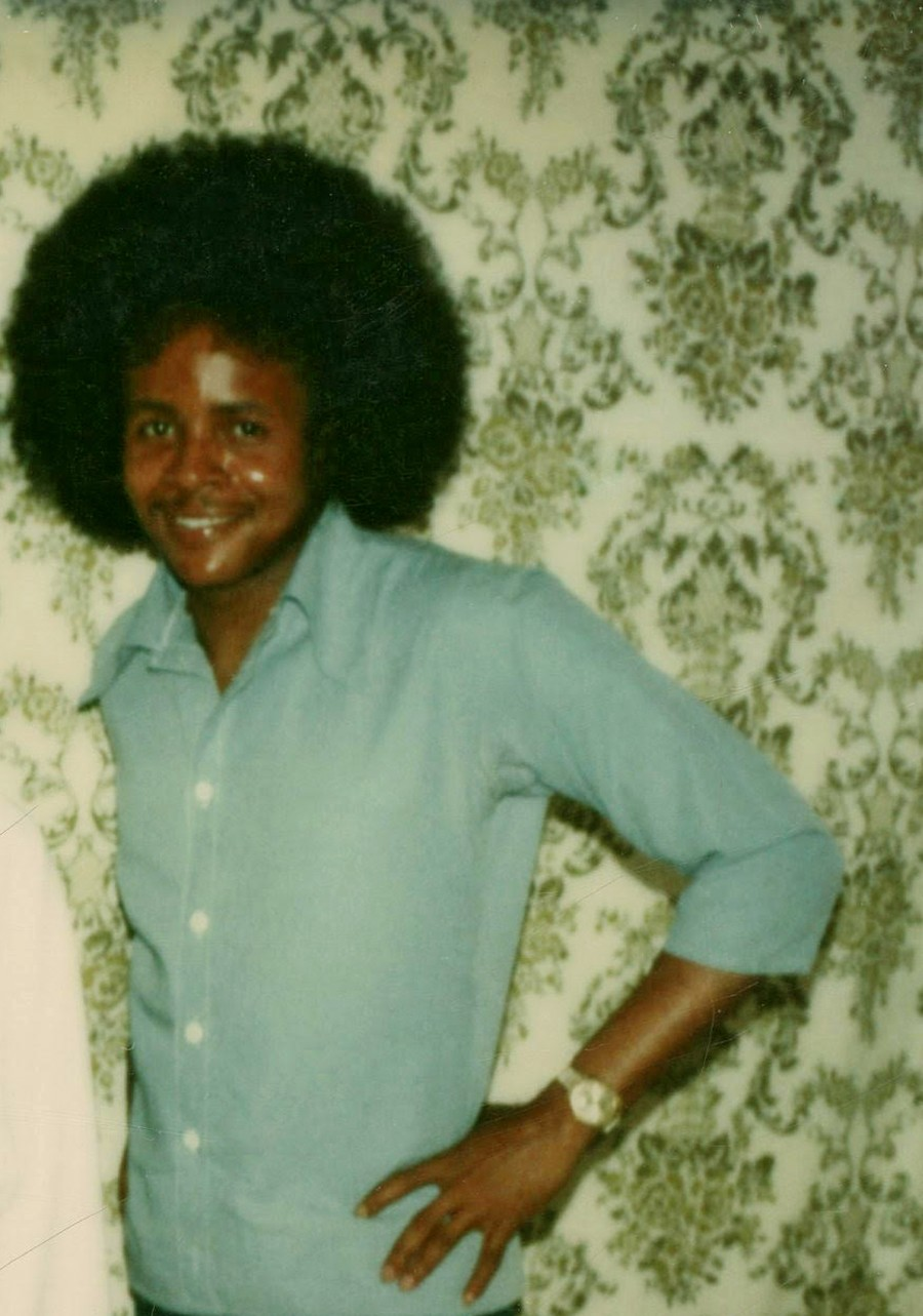 James Allen at the Pontiac Correctional Center in 1978. During his first stint in prison he became a licensed medical assistant and legal investigator. - COURTESY OF ALLEN'S FRIENDS
