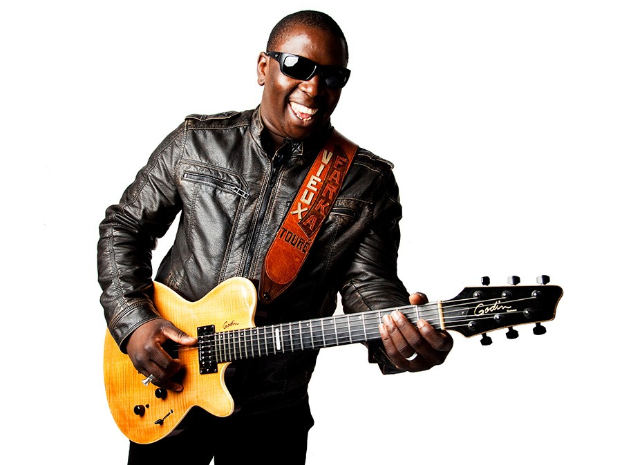 Vieux Farka Touré plays the Crossroads Stage on Saturday afternoon. - COURTESY DCASE