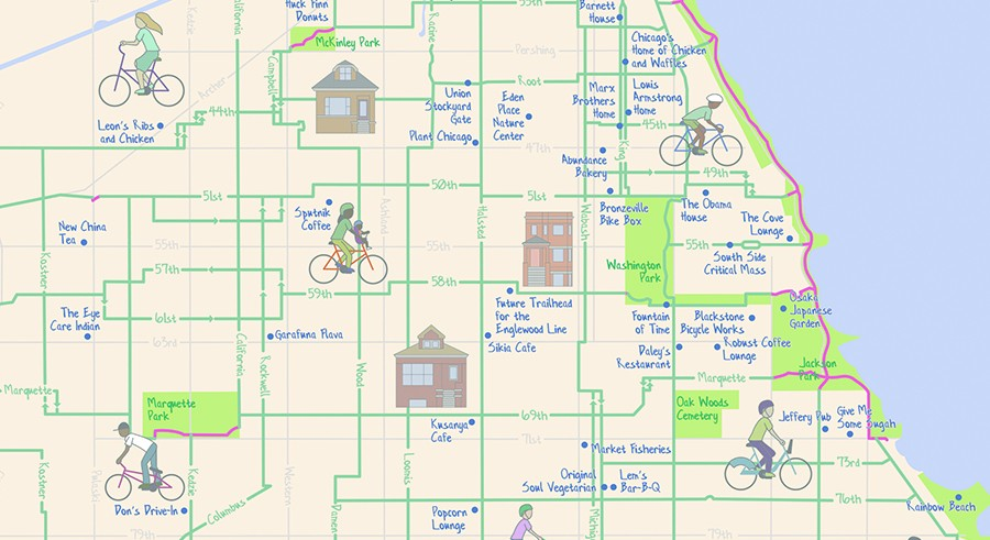The Mellow Chicago Bike Map: Our guide to the lowest-stress routes on map of chicago bad neighborhoods, map of chicago red light districts, map of chicago traffic,