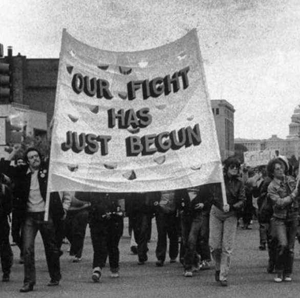 National March on Washington for Lesbian and Gay Rights in Washington, D.C. (October 14, 1979) - ONE ARCHIVES AT USC LIBRARIES