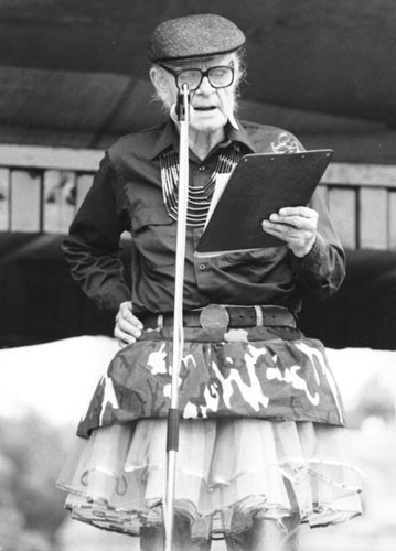 Mattachine founder Harry Hay in 1979 - ONE ARCHIVES AT USC LIBRARIES