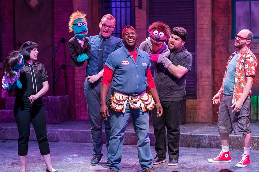 Growing Up Furry On Avenue Q Theater Review Chicago Reader