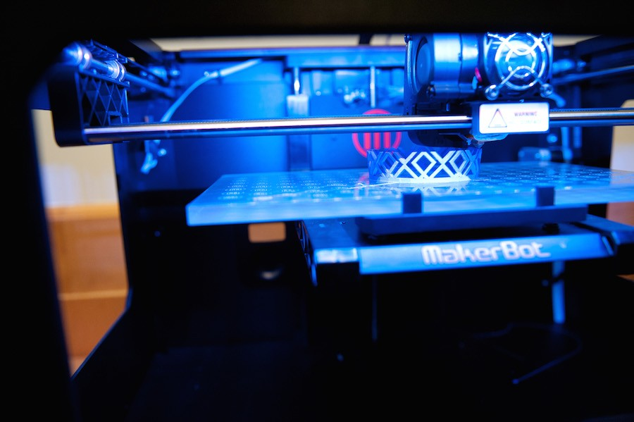 One of the library's 3-D printers - CITY OF CHICAGO PHOTOGRAPHER