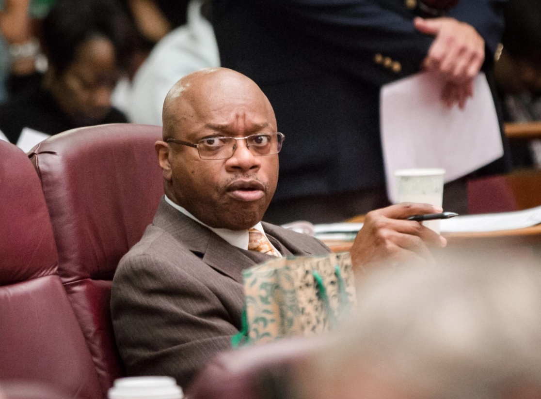 Alderman who joked about the 'gangsters' on the City Council