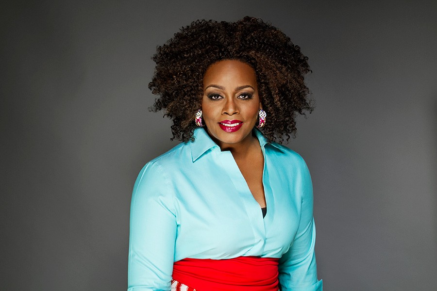Dianne Reeves performs Friday at 7:45 at Pritzker Pavilion. - COURTESY THE ARTIST