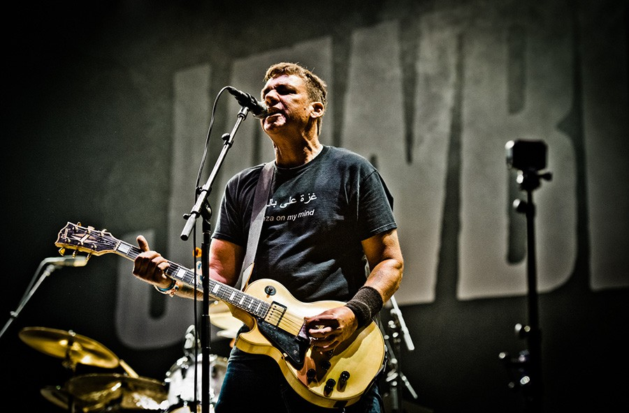 Blake Schwarzenbach of Jawbreaker, who reunited after two decades to play Riot Fest last year. - ALISON GREEN