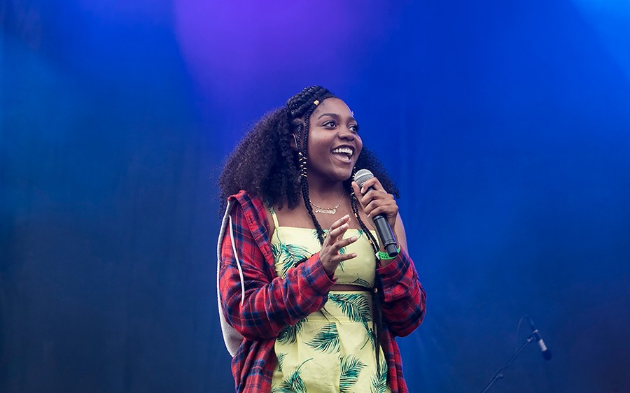 Noname at Pitchfork this summer - ASHLEE REZIN/SUN-TIMES