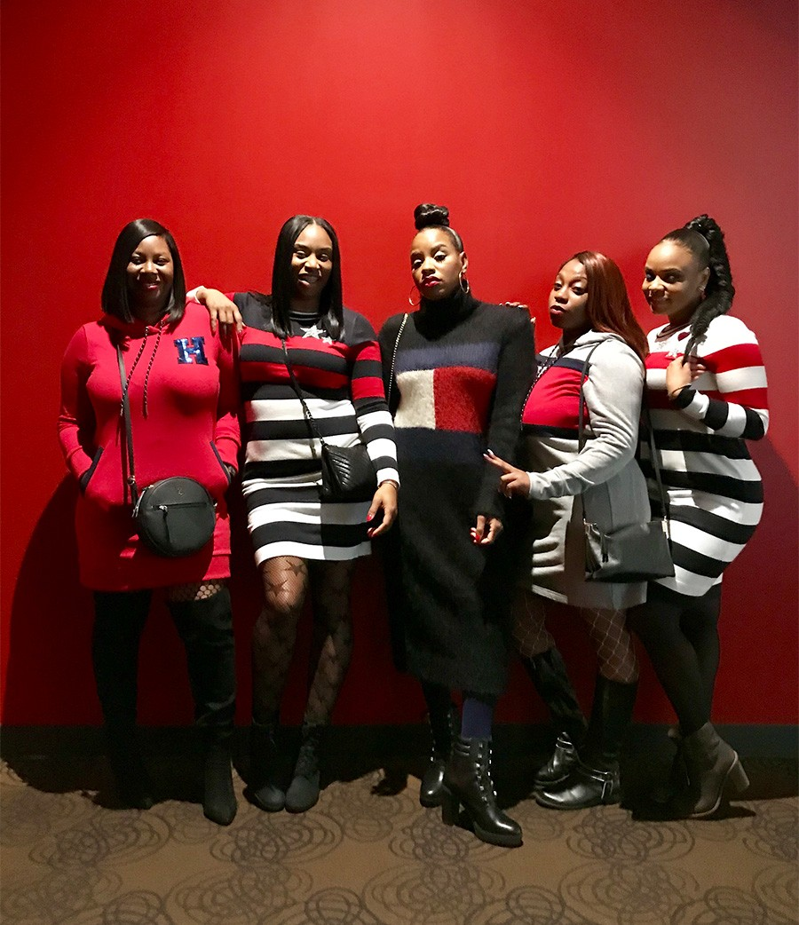 7ed5b901bec Shatara Powell celebrates her birthday in style and with her squad ...