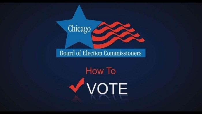 CHICAGO BOARD OF ELECTION COMMISSIONERS VIDEO