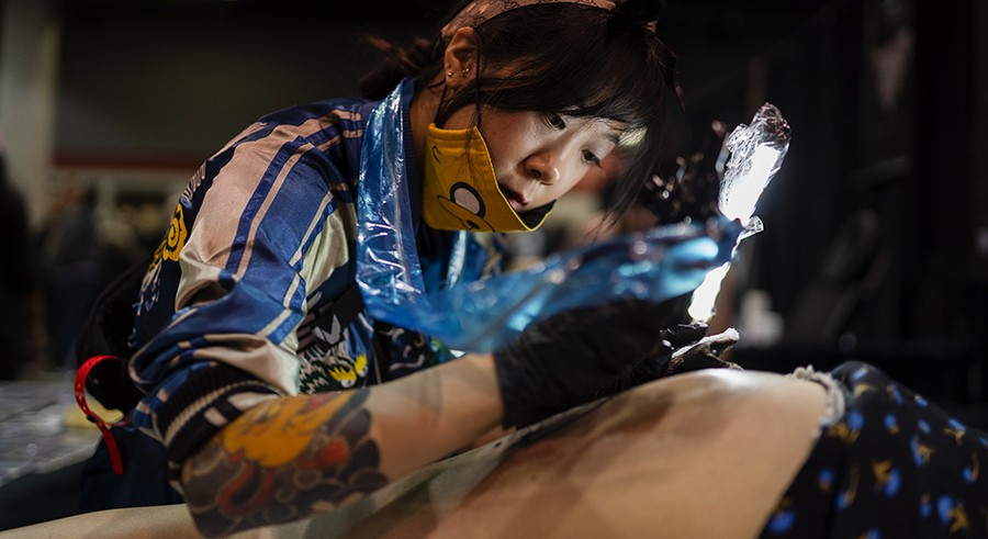 More than skin deep: photos from the Chicago Tattoo Arts Convention ...