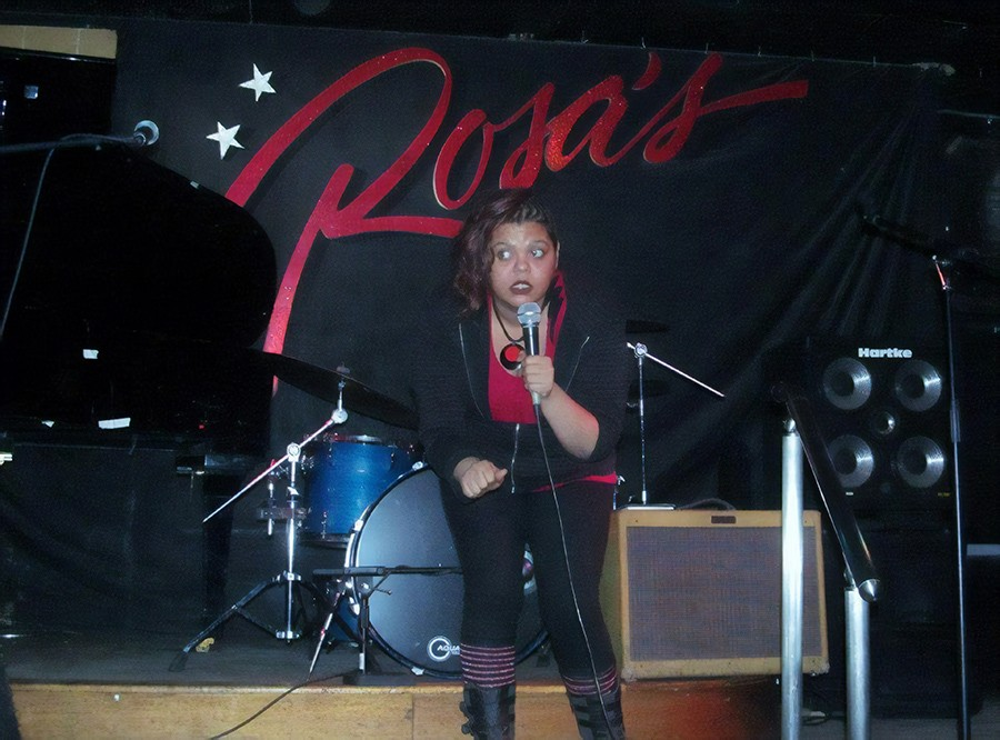Lily Be performs in The Stoop at Rosa's Lounge - COURTESY LILY BE