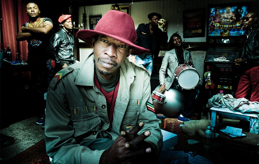 Jupiter & Okwess play Pritzker Pavilion on Thursday, August 15. - MICKY CLEMENT