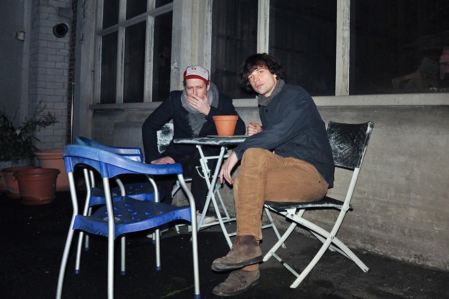 Swiss Rock Duo Klaus Johann Grobe Take Notes From House