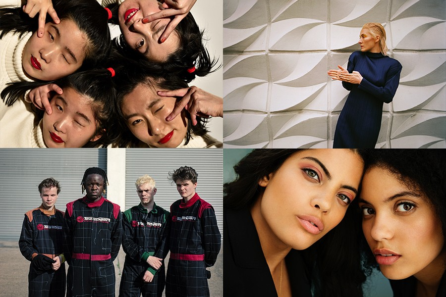 Clockwise from upper left: Chai, Cate Le Bon, Ibeyi, and Black Midi - PHOTOS COURTESY OF CHAI AND BY IVANA KLIČKOVIĆ, DAVID UZOCHUKWU, AND DAN KENDALL