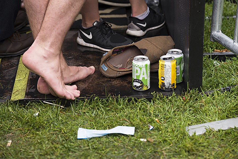 The Pitchfork Music Festival generates about 20 tons of waste each year. - ROSARIO ZAVALA