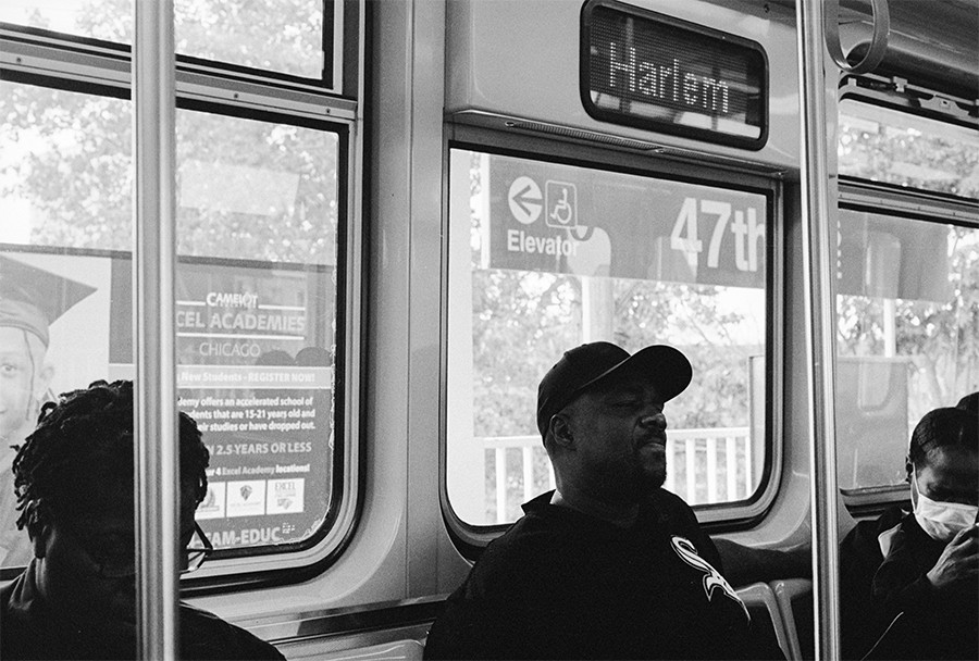 Patrons travel westbound. - W.D. FLOYD FOR CHICAGO READER