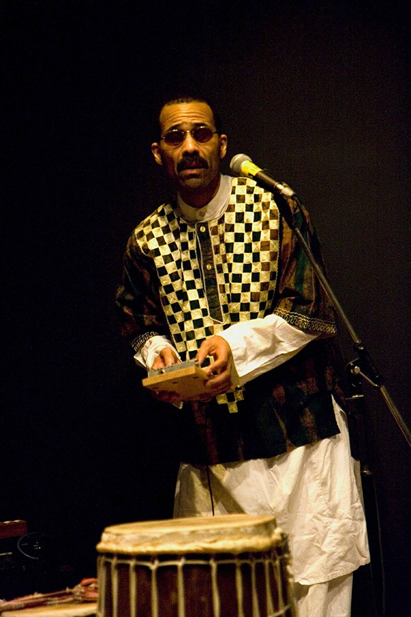 Kahil El'Zabar formed the Ethnic Heritage Ensemble more than 40 years ago. - SHELDON (SHELLY) LEVY