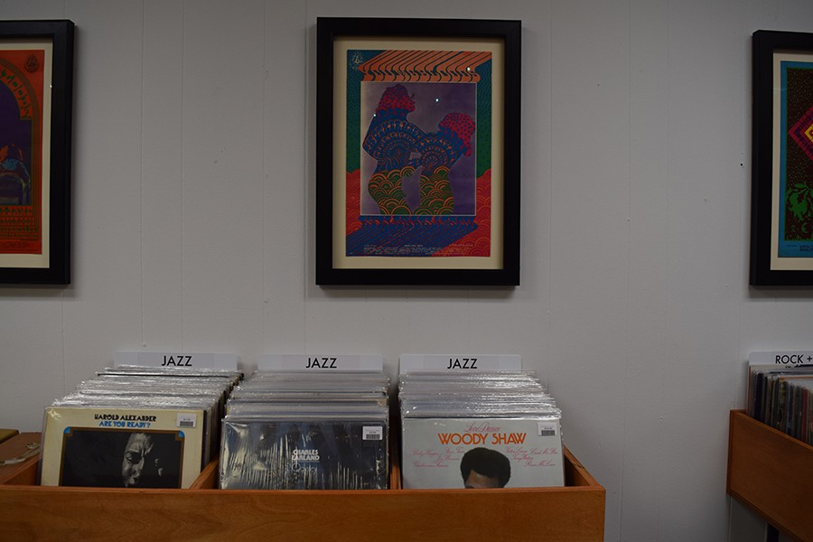 The jazz selections at Interstellar Space include Harold Alexander's 1972 Are You Ready?, Charles Earland's 1976 Odyssey, and Woody Shaw's 1976 Love Dance. - LEOR GALIL