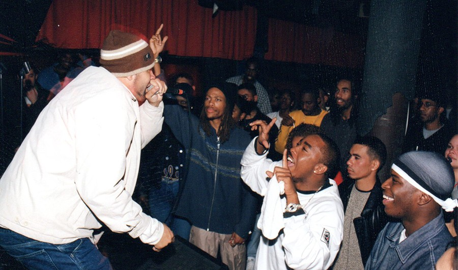 Juice performs at Blue Groove Lounge late in the Elbo Room days. - COURTESY JESSE DE LA PEÑA