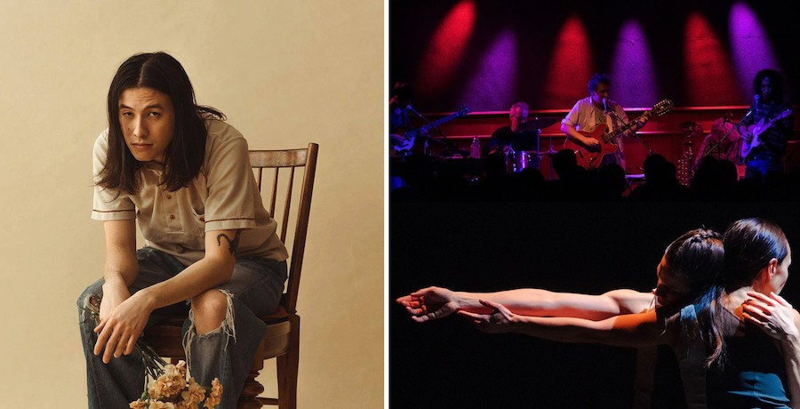 Chicago programming for Independent Venue Week includes Lincoln Hall livestreams by Sen Morimoto (left) and Califone with dance troupe Robyn Mineko Williams & Artists. - PHOTOS COURTESY LINCOLN HALL AND AUDIOTREE