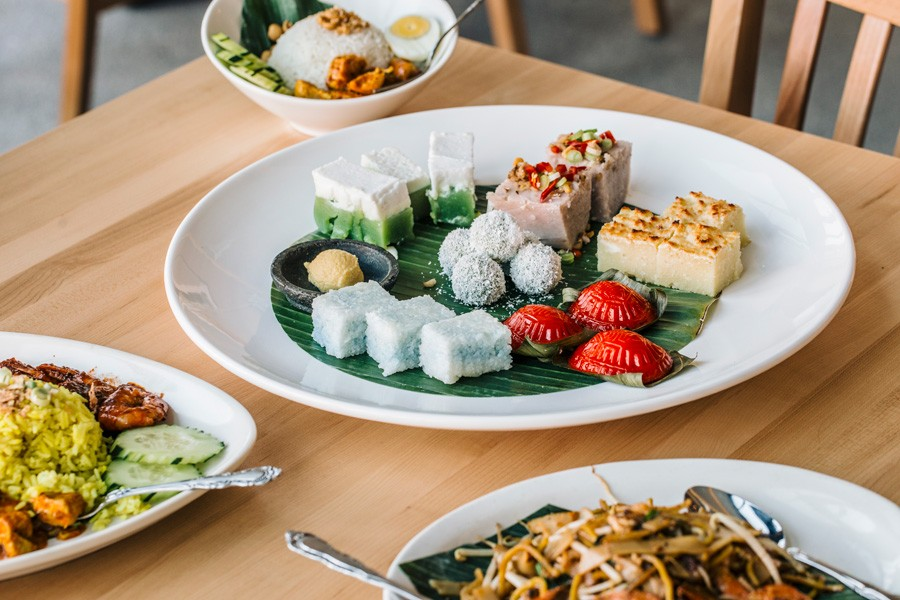 The majority of Kapitan's menu is nyonya-focused, with a mix of curries, kuih, and more. - JEFF MARINI FOR CHICAGO READER