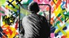"""Martin Whatson's <i>Zero Tolerance</i> is part of """"LAX/ORD"""" at Vertical Gallery."""