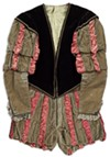 Costume worn in Chicago by Edwin Booth as Iago in <i>Othello</i>.