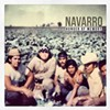 The artwork for Navarro's new single features a photo of his immigrant father (on the left)