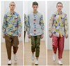 "Fall 2017 Comme de Garçons ""Shirt"" collection, featuring prints made with images by painter and School of the Art Institute professor Candida Alvarez"