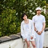 Charming indie-pop duo Water From Your Eyes help celebrate Our Music My Body's first anniversary