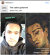 Fall Out Boy Pete Wentz's fine art twin