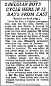 The Tribune story on the trip from June 18, 1935.