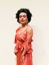 Singer Madison McFerrin had her hair embellished with Swarovski crystals by local braiding artist Shani Crowe.