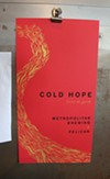 Cold Hope poster by Nicolette Ross