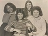 From left: Etas Michele Carria, Yvonne Zipter, Toni Armstrong Jr., and Ann Morris, the founders of <i>Hot Wire: The Journal of Women's Music and Culture</i>