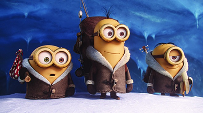 Minions Proves That Celebrity Voices Don T Make A Children S Animation Movie Review Chicago Reader
