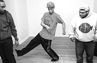 Footwork crew the Era teaches dance workshops in Pilsen