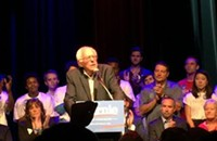Bernie Sanders's unlikely punk-rock presidential campaign rolls into Chicago