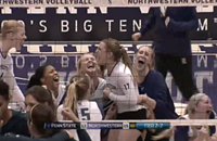 If Northwestern volleyball wins big but no one is around to hear it does it make a sound?